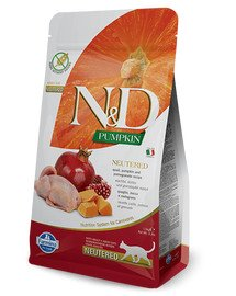 FARMINA N&D Pumpkin Quail & Pomegranate Neutered Cat 1.5 kg